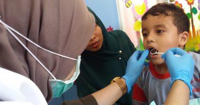 Pemeriksaan Gigi PG/TK Al-Irsyad Surabaya